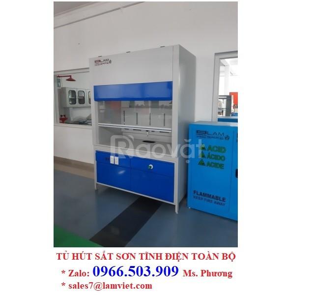 Tủ hút khí sắt sơn tĩnh điện toàn bộ - hàng có sẵn - xuất xứ Việt Nam