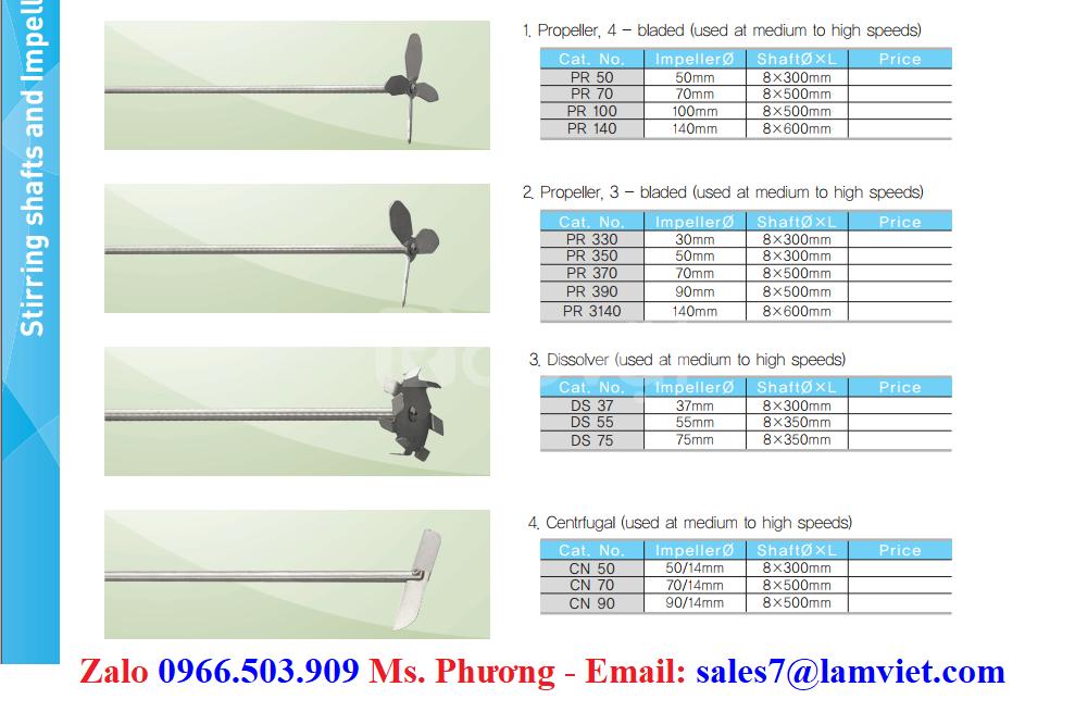 Máy khuấy đũa kỹ thuật số Misung - Hàn Quốc