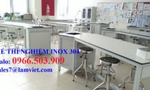 Ghế phòng thí nghiệm chất liệu inox 304 - hàng có sẵn
