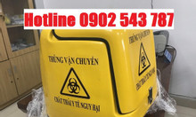 Thùng vận chuyển chất thải y tế nguy hại, thùng vận chuyển rác y tế