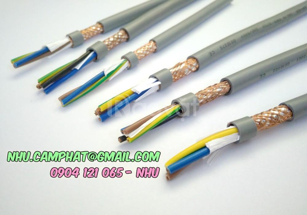 Cáp điều khiển có lưới chống nhiễu, cáp điều khiển altek kabel