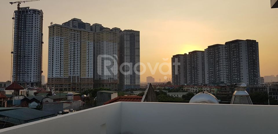 Bán nhà Kim Giang, Cầu Lủ 75m2 6 tầng hơn 7 tỷ, ô tô tránh kdoanh