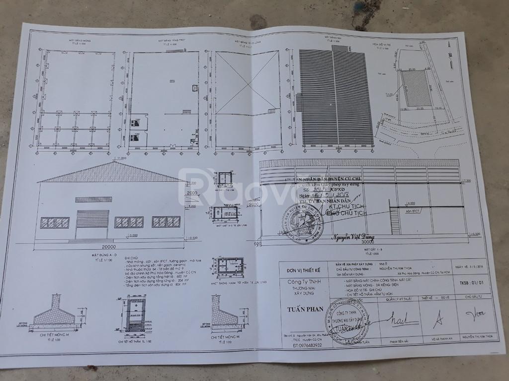 Bán gấp nhà xưởng 2MT, DT 2022m giá 11ty xưởng mới xây dựng