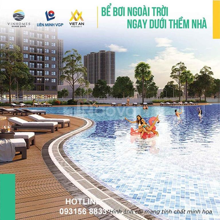 Bán chung cư Vinhomes Ocean Park, Gia Lâm, Hà Nội (2 ngủ1wc,1,967 tỷ)