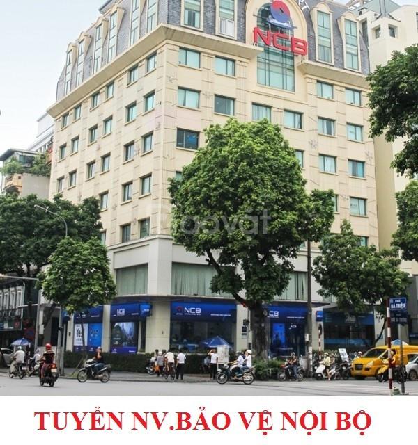 Tuyển NV bảo vệ nội bộ ngân hàng.