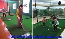 Khung lưới tập luyện golf tại nhà