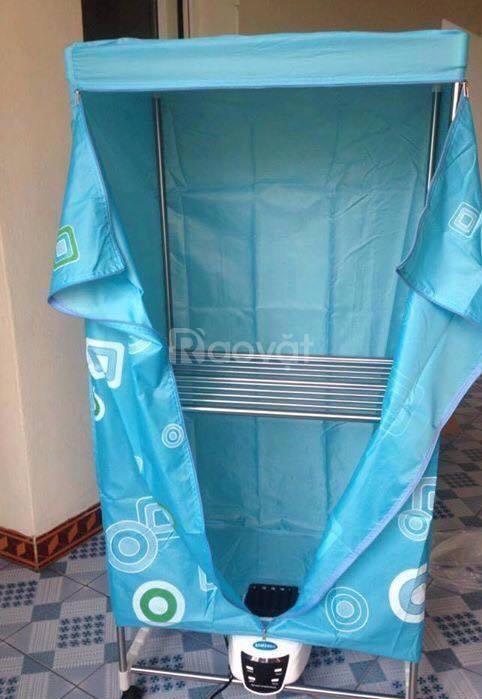 Máy sấy, tủ sấy quần áo Panasonic 2 tầng mẫu 2019 có điều khiển từ xa