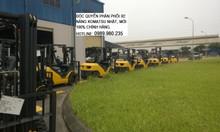 Bán và cho thuê xe nâng Komatsu 2.5 tấn Nhật trong nhà máy