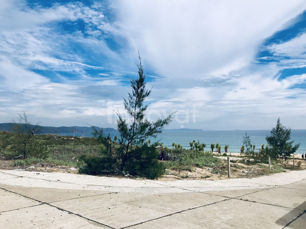 Đất biển Sông Cầu, Phú Yên - đất 3 mặt biển, sổ đỏ thổ cư