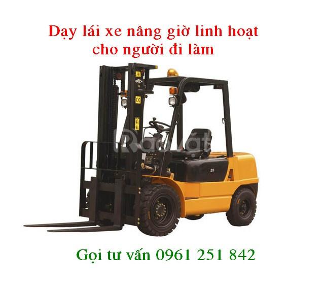 Dạy lái xe nâng tại Long Thành Đồng Nai