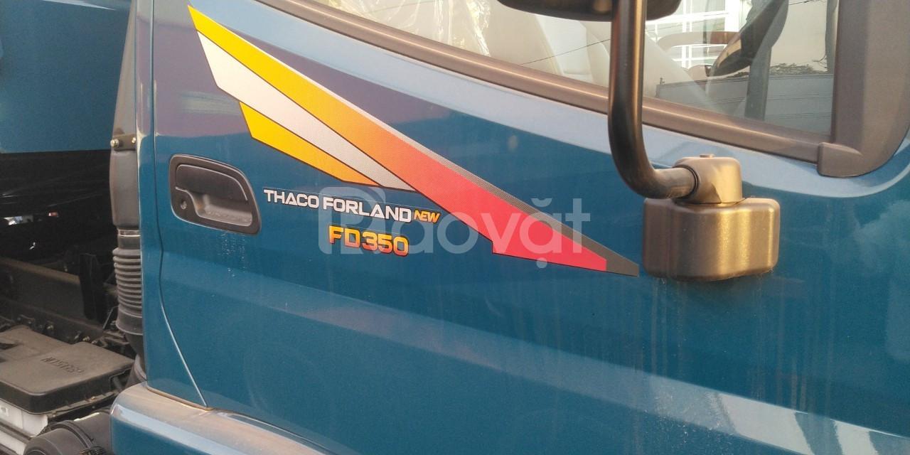 Xe ben 3.5 tấn Thaco Hải Phòng