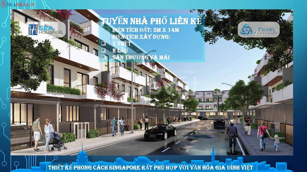 Nhà mặt phố đầy đủ tiện ích giá rẻ tại Long An