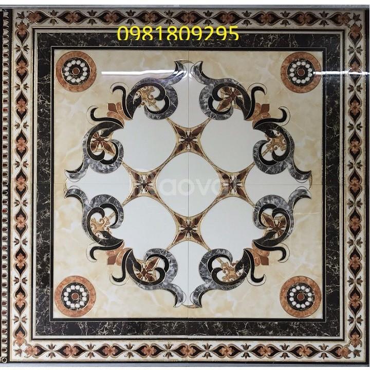 Gạch thảm vuông trang trí hoa văn