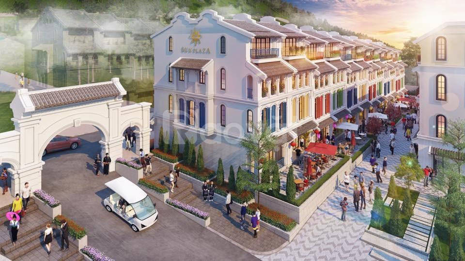 Cơ hội đầu tư sinh lời Shophouse Sun Plaza Cầu Mây, Sa Pa