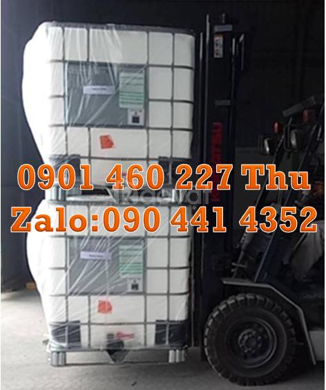 Gía thùng nhựa ibc 1000 lít, tank nhựa chứa hóa chất 1000 lít vuông