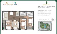 Gia đình cần bán căn 3PN 103 m2 The Emeral