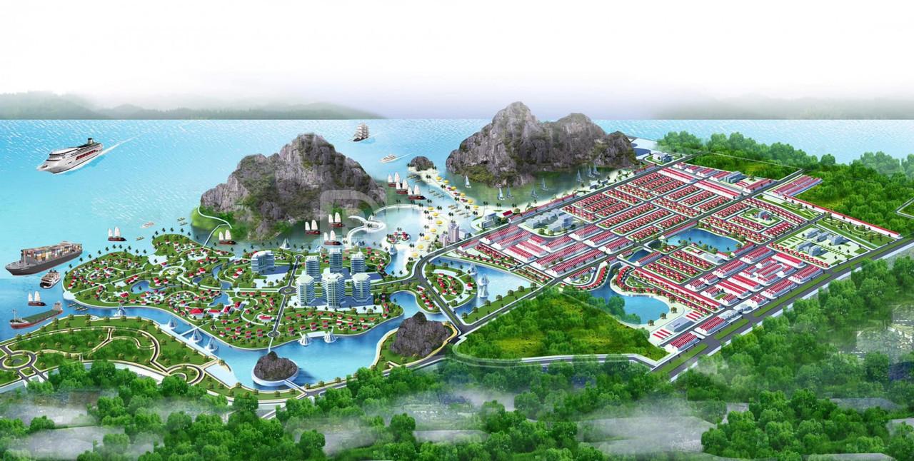 Chỉ 1,3 tỷ sở hữu được lô đất view vịnh Bái Tử Long, KĐT Sentosa Bay
