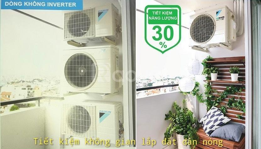 Máy lạnh Daikin Multi S Inverter - Gas R32 - Một chiều lạnh