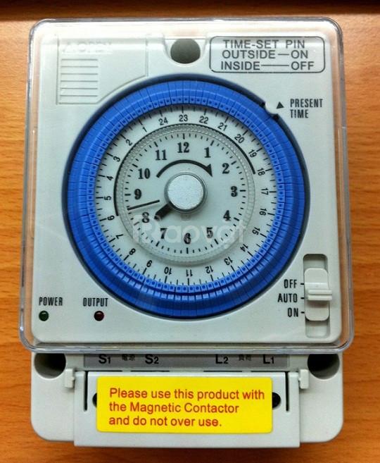 Timer hẹn giờ đa năng dùng trong ngành điện, nước