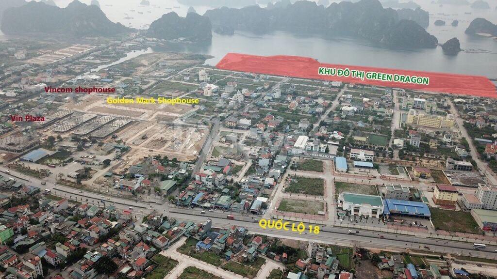 Nhận cọc giữ chỗ dự án Green Dragon Cẩm Phả - view vịnh Bái Tử Long