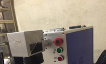 Máy laser fiber ( máy laser khắc kim loại)