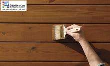 Cung cấp thùng sơn gỗ NC CADIN 18L màu đen chuẩn