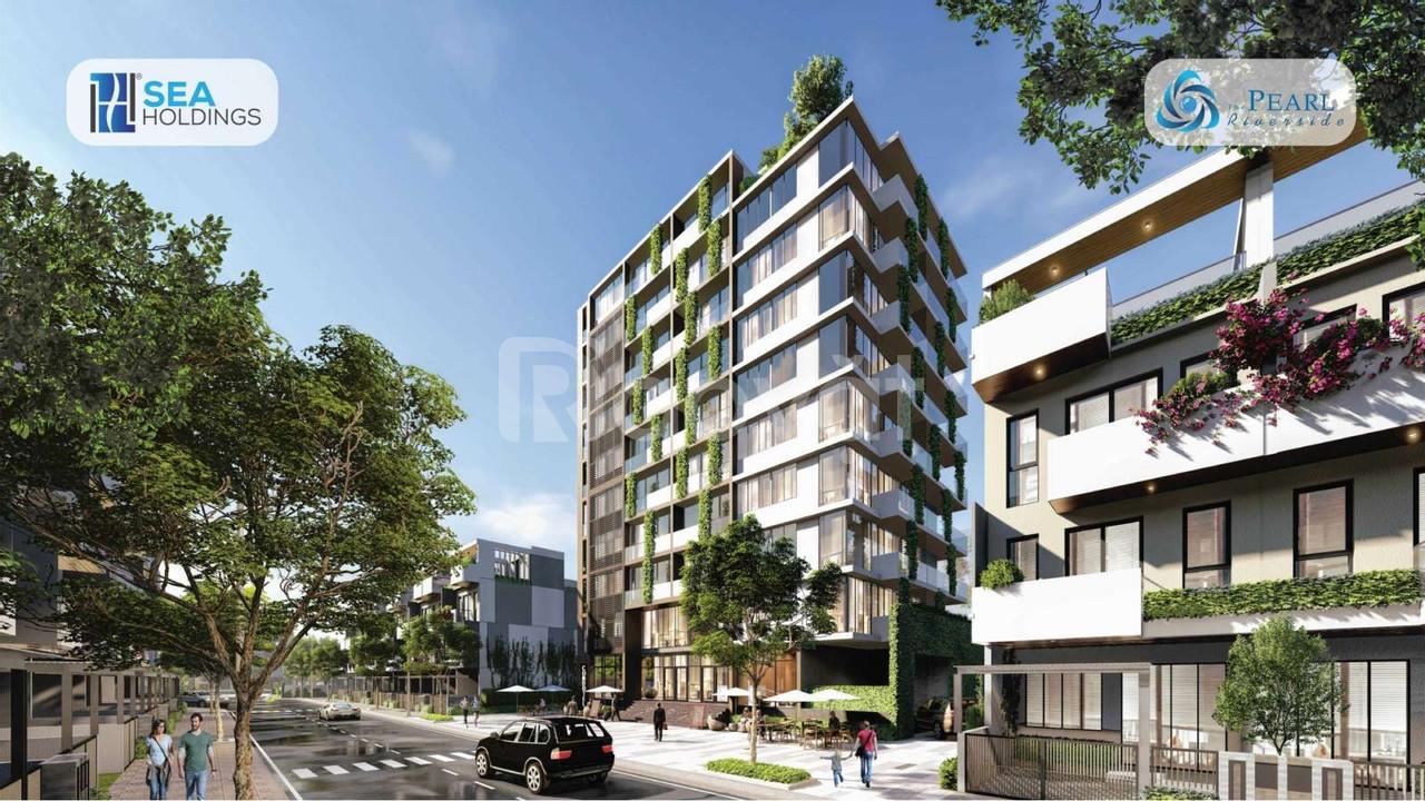 10 suất nội bộ nhà phố ven sông The Pearl Riverside, 2,4 tỷ/căn