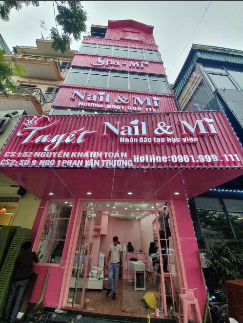 Trọn bộmáy tính tiền cho Tiệm Nail, Nối Mitại Hà Nội