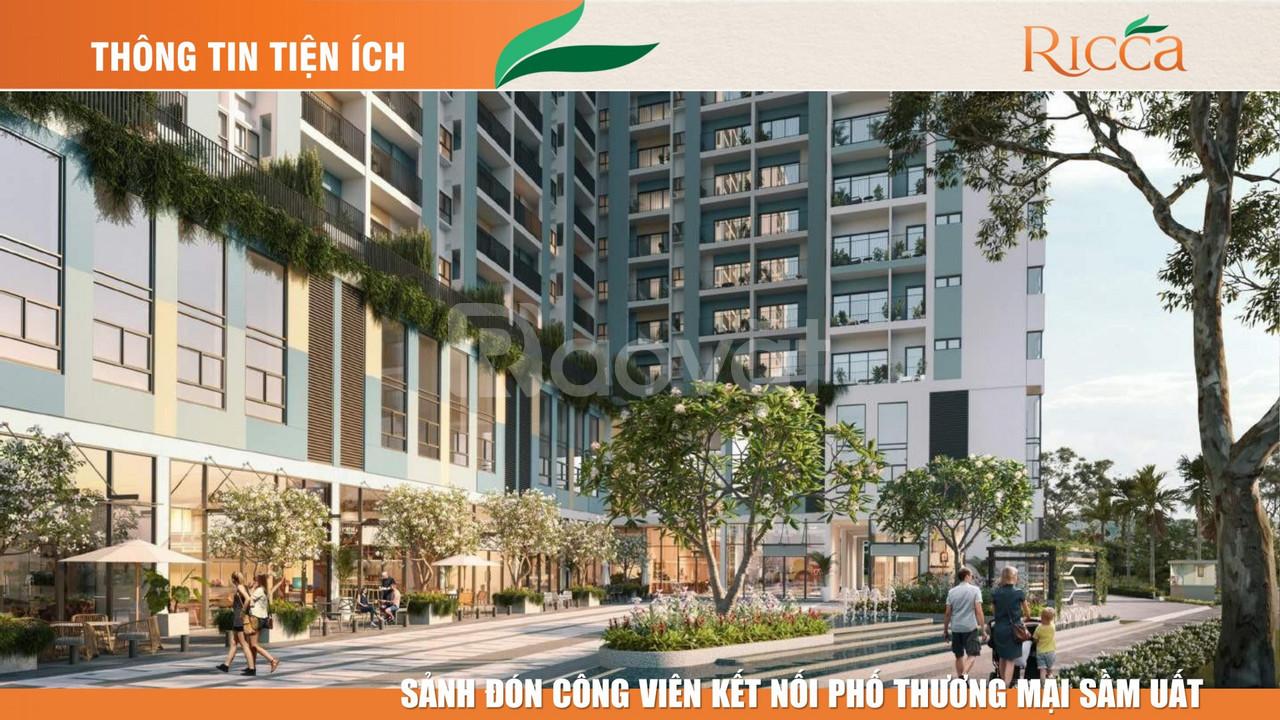 Dự án The Ricca vị trí ngay ngã đường D7 & Gò Cát, Phường Phú Hữ