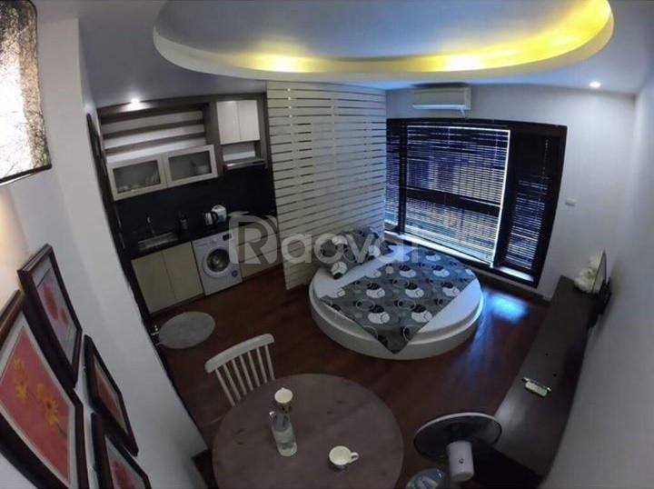 Nhà 4 tầng 46m2 mặt ngõ ô tô kinh doanh Thịnh Hào 1 giá bán 6,3tỷ