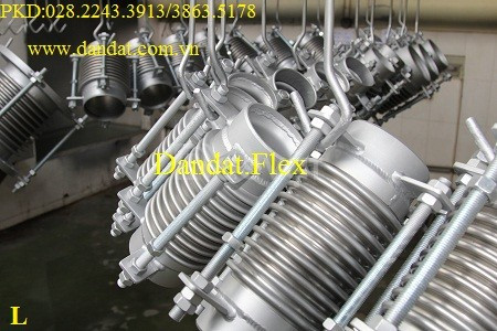 Khớp chống rung inox 304, khớp nối giãn nở nhiệt, khớp giãn nở nhiệt