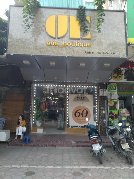 Cửa hàng tại số 41, Trần Quốc Hoàn, Cầu Giấy