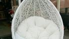 Ghế xích đu treo ngoài trời nhựa giả mây (ảnh 7)