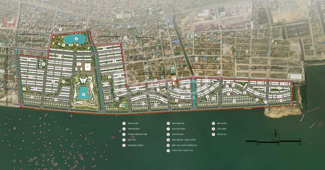 Dự án TTP Green Dragon - Cẩm Phả - Quảng Ninh.
