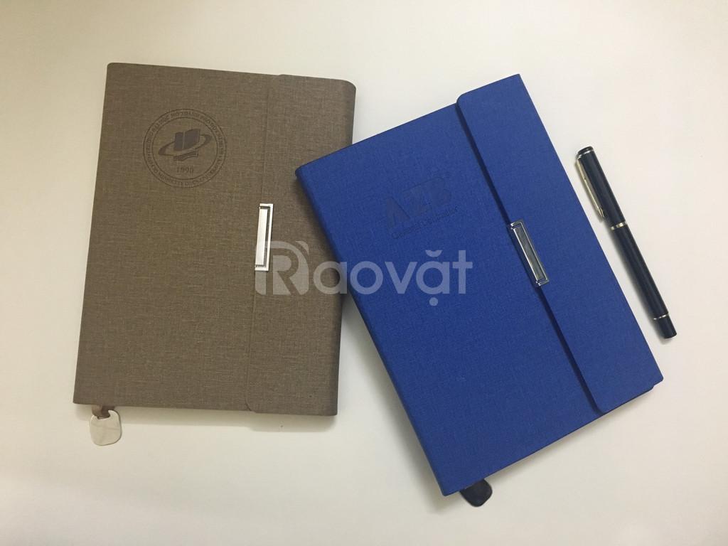 Sổ dán gáy, sổ da, sổ tay sản xuất tại TP.HCM