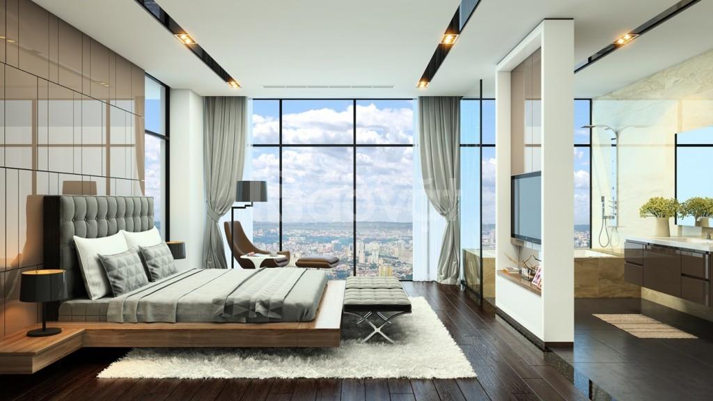 Bán rẻ căn hộ cao cấp 124m2 4 phòng ngủ trung tâm quận Cầu Giấy