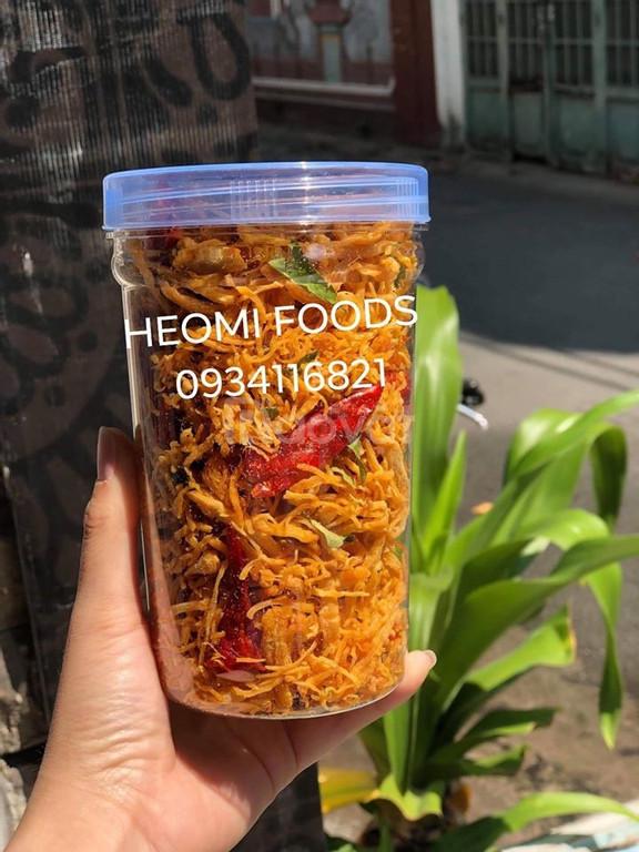 Khô gà lá chanh cay ngon Heo Mi Foods (ảnh 1)