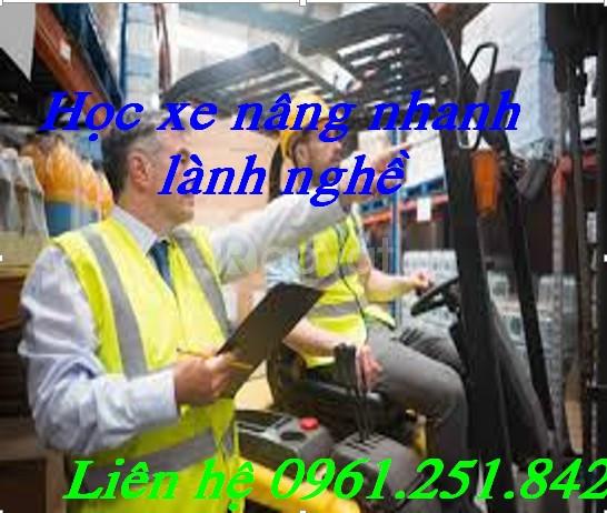 Nơi dạy lái xe nâng uy tín bằng nhanh tại Long Thành Đồng Nai