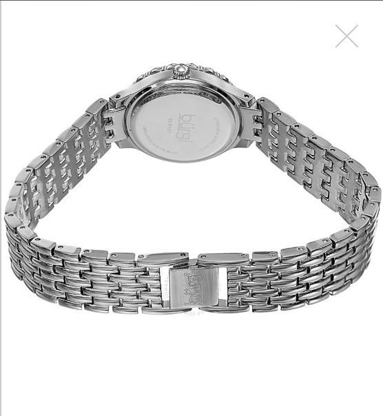 Đồng hồ nữ Burgi Silver