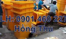 Nơi bán thùng rác công cộng 120 lít, thùng rác y tế 120 lít