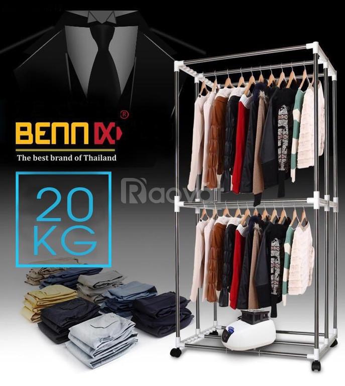 Máy sấy quần áo tủ sấy quần áo Bennix BN-0186 Thái Lan chính hãng