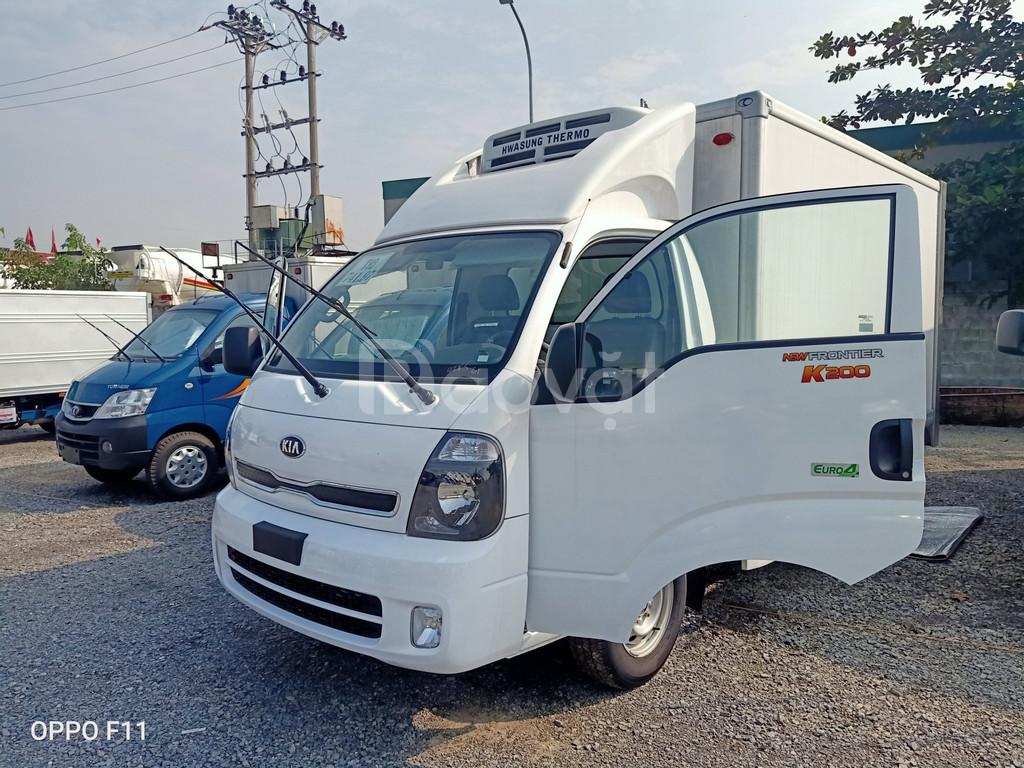 Xe tải đông lạnh KIA K200 tải 990kg và 1490kg