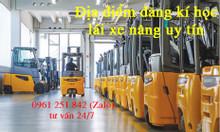 Địa điểm học lái xe nâng giá rẻ tại Bình Long Phước Long Bình Phước