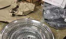 Lò nướng than hoa âm bàn giá rẻ chất liệu inox cao cấp cho quán nướng