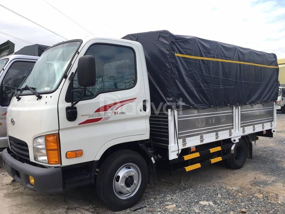 Xe tải huyndai N250SL tải trọng 2t5 thùng 4m3 model 2019