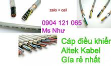 Cáp điều khiển altek kabel bọc lưới chống nhiễu