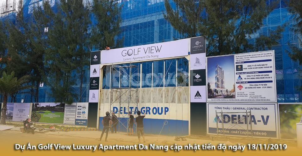 Căn hộ cao cấp Golf View Luxury Apartment Đà Nẵng - Siêu phẩm ven biển