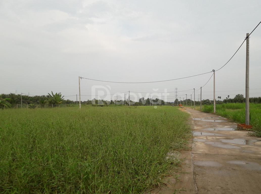 Bán gấp miếng đất thổ cư sát quốc lộ 1A ngã ba Hòa Tịnh