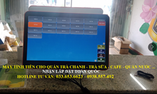 Trọn bộ máy tính tiền cho quán Trà Chanh tại Bắc Ninh