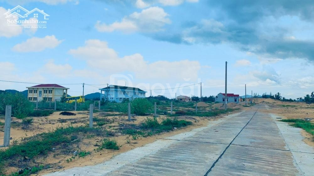Tưng bừng mở bán đất nền Hòa Lợi, biển Phú Yên, 3 mặt view biển.